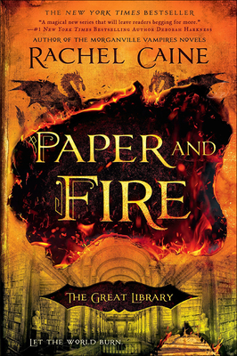 Paper and Fire (Great Library #2) Cover Image