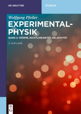 Wärme, Nichtlinearität, Relativität (de Gruyter Studium) Cover Image