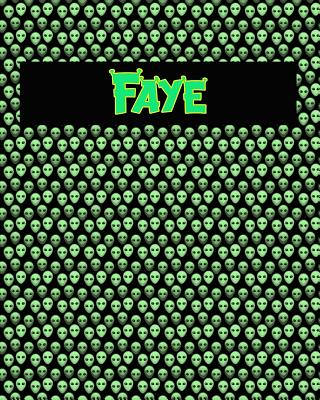 120 Page Handwriting Practice Book with Green Alien Cover Faye: Primary Grades Handwriting Book Cover Image