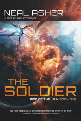 The Soldier: Rise of the Jain, Book One Cover Image