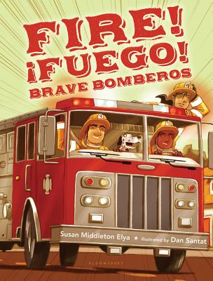 Fire! Fuego! Brave Bomberos Cover
