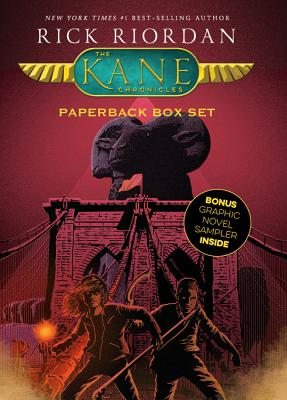 The Kane Chronicles, Paperback Box Set (with Graphic Novel Sampler) Cover Image