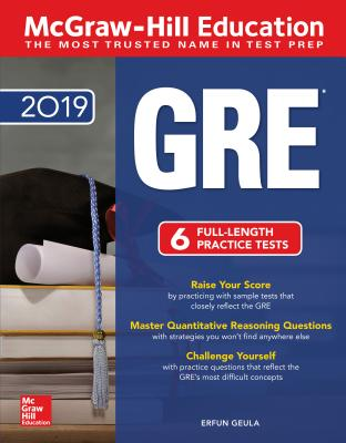 McGraw-Hill Education GRE 2019 Cover Image