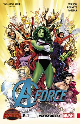 A-Force, Volume 0 Cover
