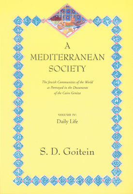 Cover for A Mediterranean Society, Volume IV
