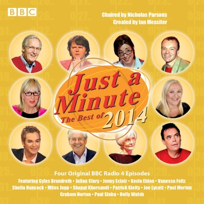 Just a Minute: The Best of 2014: Four Episodes of the BBC Radio 4 Comedy Panel Game Cover Image