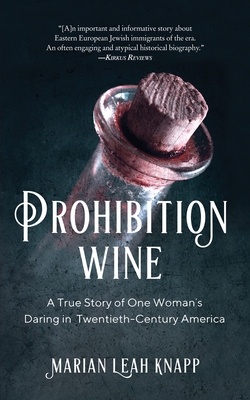 Cover for Prohibition Wine