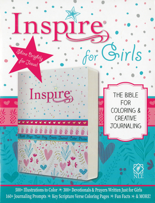 Inspire Bible for Girls NLT Cover Image