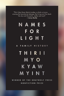 Names for Light: A Family History Cover Image
