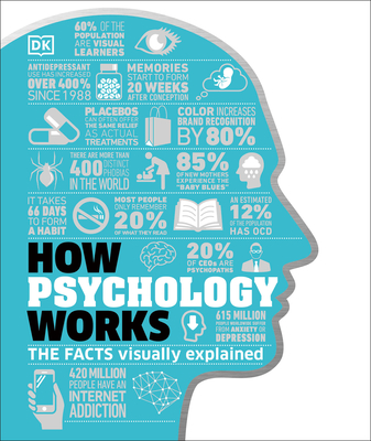 How Psychology Works: The Facts Visually Explained (How Things Work) Cover Image