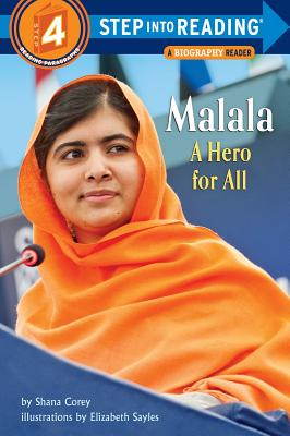 Malala: A Hero for All (Step into Reading) Cover Image
