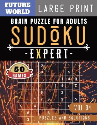 Sudoku Expert: Brain health games - Sudoku Extreme Hard game Sudoku Puzzles for Brain Sharper Cover Image