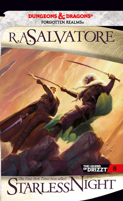 Starless Night (The Legend of Drizzt #8) Cover Image