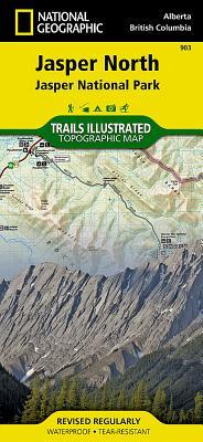 Jasper North [Jasper National Park] (National Geographic Trails Illustrated Map #903) Cover Image