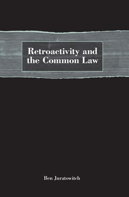 Retroactivity and the Common Law Cover Image