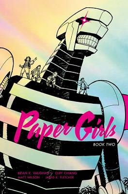 Paper Girls Deluxe Edition Volume 2 cover image