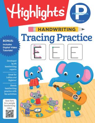 Handwriting: Tracing Practice (Highlights Handwriting Practice Pads) Cover Image