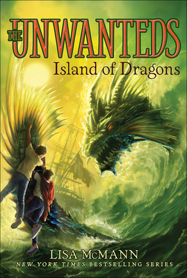 Island of Dragons (Unwanteds #7) Cover Image