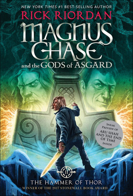Hammer of Thor (Magnus Chase and the Gods of Asgard #2) Cover Image