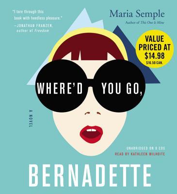 Where'd You Go, Bernadette Cover