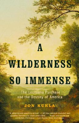 A Wilderness So Immense Cover