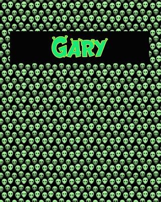 120 Page Handwriting Practice Book with Green Alien Cover Gary: Primary Grades Handwriting Book Cover Image