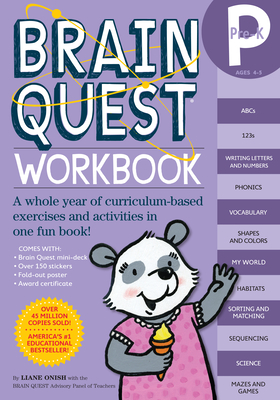 Brain Quest Workbook: Pre-K (Brain Quest Workbooks) Cover Image