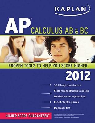 Kaplan AP Calculus AB & BC 2012 (Paperback) | The Book Table