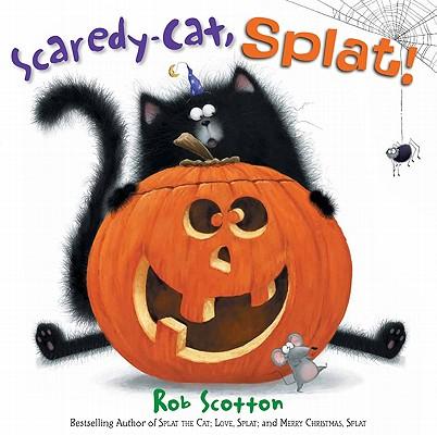 Scaredy-Cat, Splat! (Splat the Cat) Cover Image