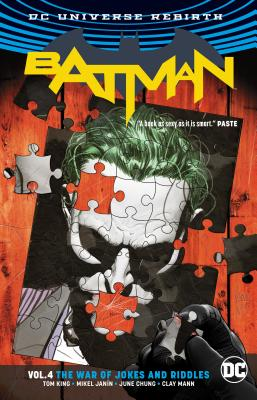 Batman Vol. 4: The War of Jokes and Riddles (Rebirth) Cover Image