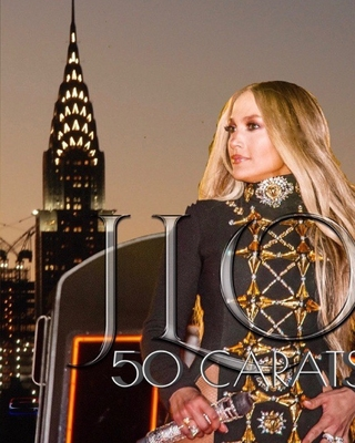Iconic JLO 50 carats Birthday tribute photo book gallery edition sir Michael Huhn Cover Image