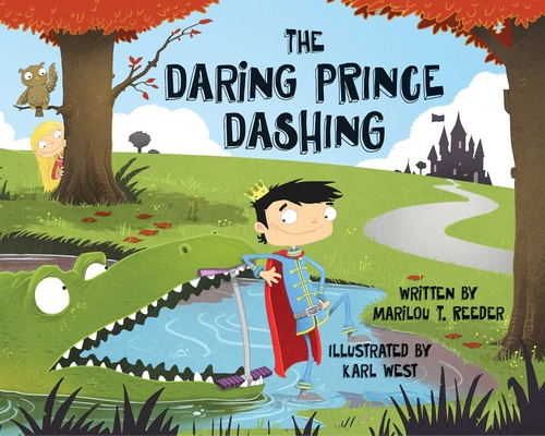 Cover for The Daring Prince Dashing