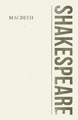 Macbeth - A Tragedy Cover Image