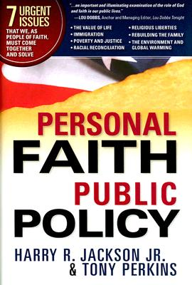 Personal Faith, Public Policy Cover