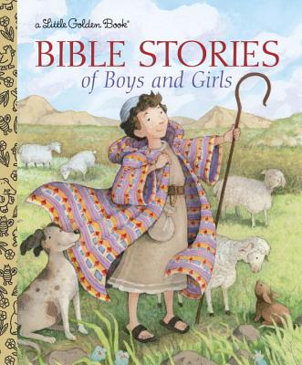 Bible Stories of Boys and Girls (Little Golden Book) Cover Image