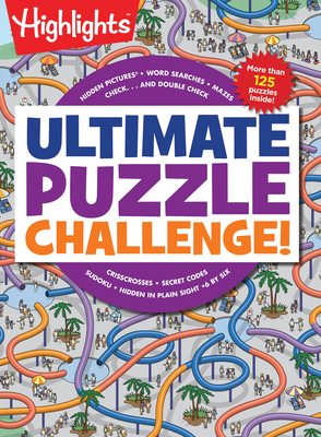 Ultimate Puzzle Challenge! (Highlights Jumbo Books & Pads) Cover Image
