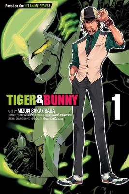 Tiger & Bunny, Volume 1 Cover