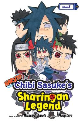 Naruto: Chibi Sasuke's Sharingan Legend, Vol. 3 cover image