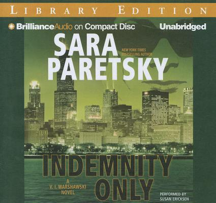 Indemnity Only (V.I. Warshawski Novels #1) Cover Image