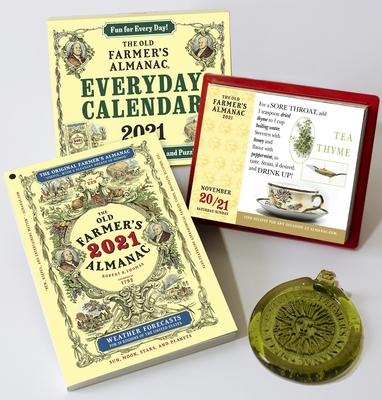 The Old Farmer's Almanac 2021/Everyday Box Calendar 2021/Sun Catcher Bundle Cover Image