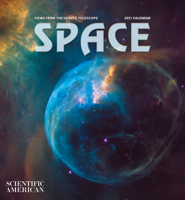 Space: Views from the Hubble Telescope 2021 Wall Calendar Cover Image