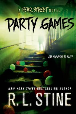 Party Games: A Fear Street Novel Cover Image