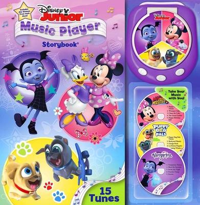 Disney Junior Music Player Storybook Cover Image