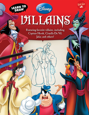 Learn to Draw Disney Villains Cover