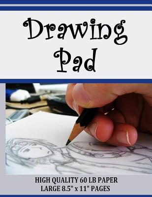 Drawing Pad: High Quality Drawing Pad for Sketching or Doodling Cover Image