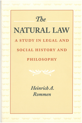 The Natural Law: A Study in Legal and Social History and Philosophy Cover Image