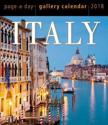 Italy Page-A-Day Gallery Calendar 2018 Cover Image