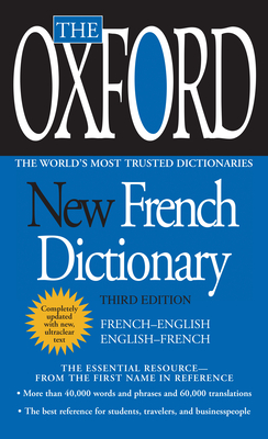 The Oxford New French Dictionary: Third Edition Cover Image
