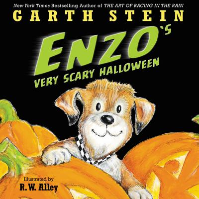 Enzo's Very Scary Halloween Cover Image