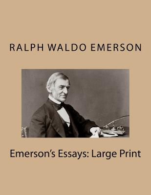 Emerson's Essays: Large Print Cover Image